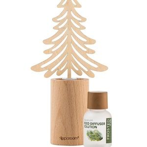 NEW Wooden Reed Diffuser -Sparoom frosted fir